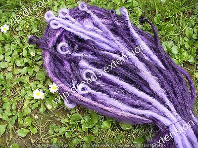 DREADS EXTENSION , CYBER DREADS  single ended 5 viola e fuxia