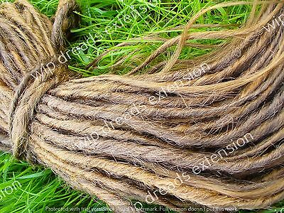 DREADS EXTENSION , CYBER DREADS  single ended 5 castano chiaro mix