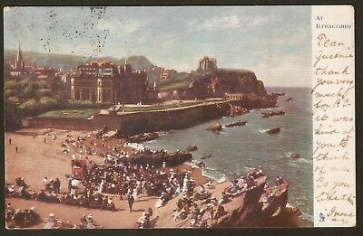 Collectible Antique Vintage Tuck & Son's Postcard: At Ilfracombe, England