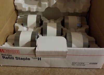 Rico Refil Staples  Type H,  5 ct,  #410509,   Lot of 2