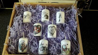 nightmare before christmas  votive candle set