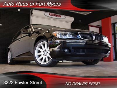 2006 BMW 7-Series 750Li We Ship Nationwide As-Is Special Navigation System Clean CarFax