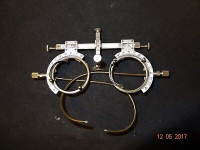 Nice American Optical Optometrist Trial Glasses ANTIQUE OPTOMETRY Eye Lens Frame