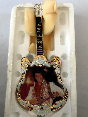 Elvis Guitar Shaped Ent of the Century Plate. The Spirit - 4th plate 1975