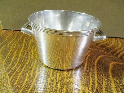 Sterling Silver Sanborns Mexico Mid Century Modern Ice Bucket 28 Ozts