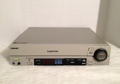 Sony MDP-1150 Lasermax CD CDV LD Laserdisc Player As Is for Parts
