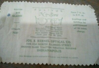Vintage Indianapolis Jos. E. Kernel Optical Co. Traction Terminal Building