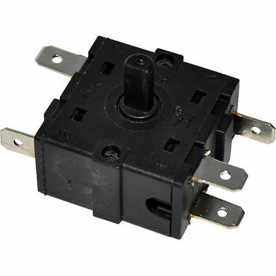 Oven Off/Low/Medium/High 4 Position 5 Pins Rotary Switches