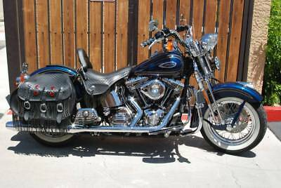 2000 Harley-Davidson Softail  2000 Harley Springer 4900 miles baker 6 speed 100 ci motor gear drive cams