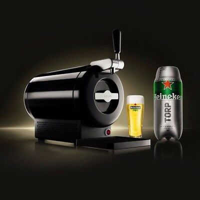 KRUPS The SUB Beer Dispenser Black *New in Box* Fresh Craft Beers on Tap at Home