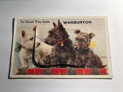 Warburton Victoria Australia Vintage Fold Out Picture Postcard Set