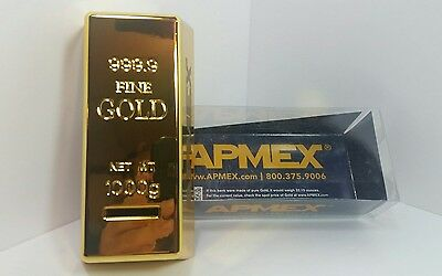 apmex fake gold (of course) coin bank L