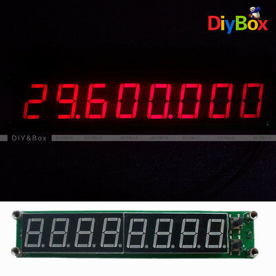 RF Signal Frequency Counter  Cymometer Tester LED Display 0.1-60MHz 20MHz~2.4GHz