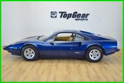 1977 Ferrari 308  1977 Ferrari 308GTB Rare Azzuro over Tan All Service, Tools & Books