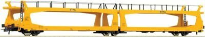 ROCO - 66519-Automobile transporter TA378, yellow (HO SCALE)