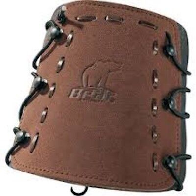 Bear Traditonal Armguard, Universal Left or Right Hand, Arm Protection,