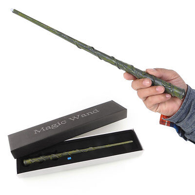 Harry Potter Cosplay Hogwarts Hermione LED Light UP Magic Wand In Box