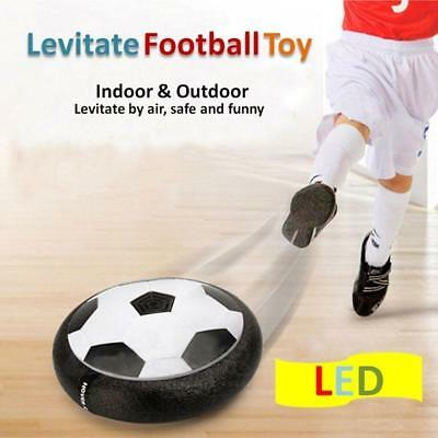 Air Power Soccer Disc Pneumatic Suspended Football with Foam Bumpers LED Lights