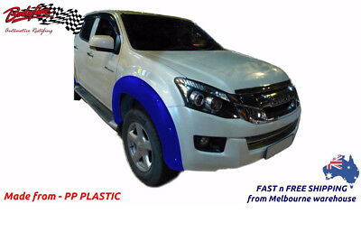 ISUZU D MAX 2013on FENDER FLARES WHEEL ARCH PAINTED TO ANY COLOUR (FRONT ONLY)