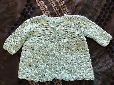 Hand Knitted Cardigan To Fit Size 00-1 Never Worn