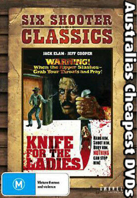 Knife For The Ladies DVD NEW, FREE POSTAGE WITHIN AUSTRALIA REGION 4