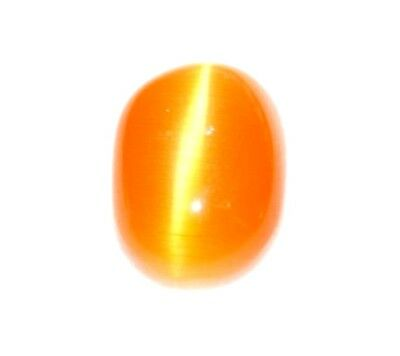Awesome Looking 7.95  Ct Natural Superb Carnelian Orange Cabochon Cat's Eye Gems