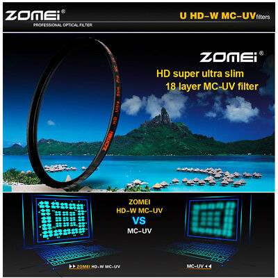ZOMEI U HD_W MCUV  Multi-Coated Ultra Slim Frame lens filter 52/58/67/72/77/82mm