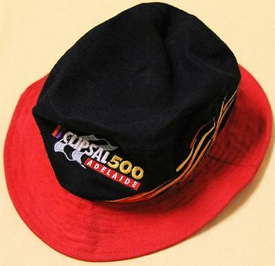 Collectible Clipsal 500 Adelaide Embroidered Bucket Hat - Excellent