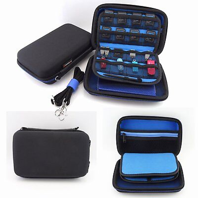 Hard Carrying Case Bag Game Pouch for Nintendo 3DS XL /2DS XL /3DS & DSi Storage