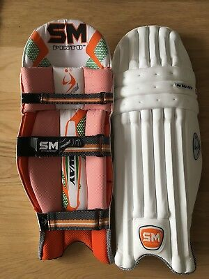 Mens SM Sway First Class edition cricket batting pads