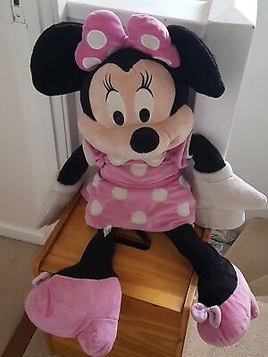 minnie mouse small soft toy Disney pink girls teddy