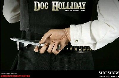 Sideshow Doc Holliday Premium Format Exclusive Switch-Out Knife *hand Wyatt Earp
