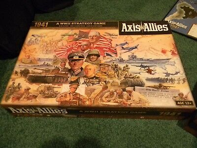 Axis and Allies 1941 Board Game New opened but parts sealed complete!