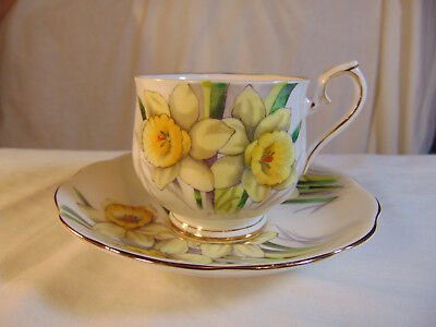 "Royal Albert English bone china ""Flower of the Month"" Daffodil. No 3"