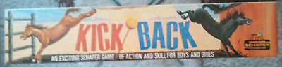Vintage 1965 Schaper Kick Back Board Game - Complete