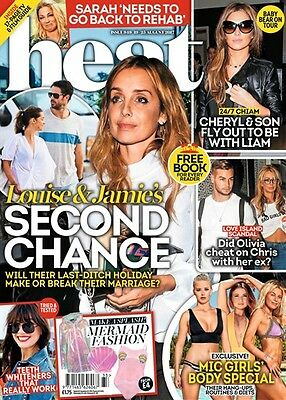 HEAT MAGAZINE 19th-25th August 2017 (BRAND NEW/SEALED)
