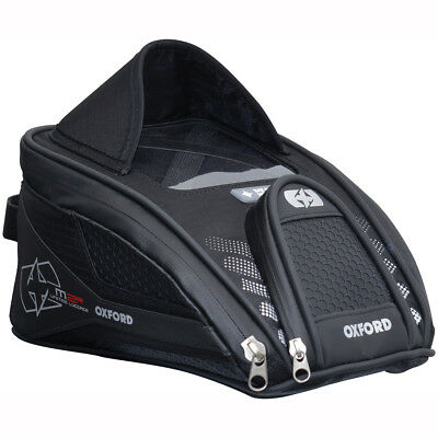 Motorcycle Oxford M2R Lifetime Mini Tank Bag Magnetic 2 Litres WP - All Colours