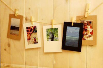 10pcs/lot Retro Vintage Creative 6 Inches DIY Wall Hanging Paper Photo Frame Wit