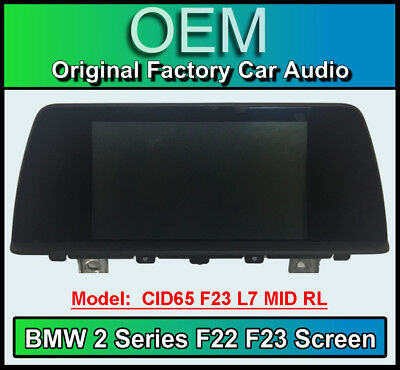 BMW 2 Series display screen, BMW F23 F22, CID65 L7 MID RL , LCI Multi function