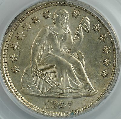 1857 Liberty Seated Dime MS64 PCGS