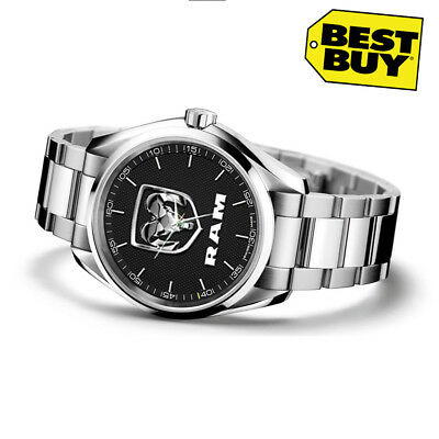 NEW Luxury Stainless Steel dodge ram  Sport Men's Watch *NEW LIMITED EDITION*