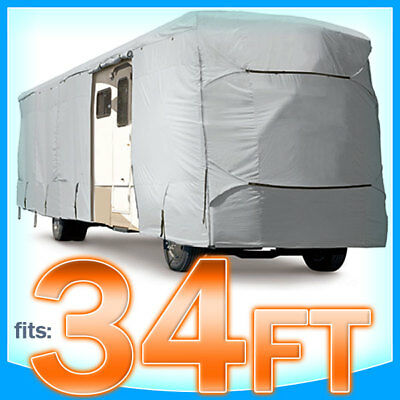 34' ft Superior RV Cover Class A B C Motorhome Camper Storage Covers Protection