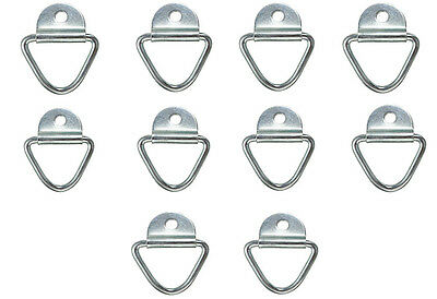 10x Tie Down Lashing Rings Cleat Truck Van Horsebox Trailer Transporter Ring HGV