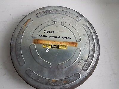 T9103 1936 LAND WITHOUT MUSIC COMEDY WALTER FORDE OPERETTA 2 REELS 9.5mm SOUND