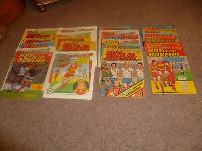 22 Roy Of The Rovers Comics