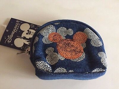 Mickey Mouse Disney Purse * New With Tags * Disneyland Paris Rare Sequins