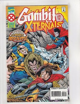 Gambit and the X-Ternals #2 VF/NM 9.0 Marvel Comics Age of Apocalypse