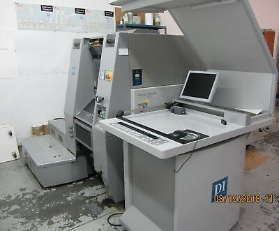 Ryobi 3404 DI (KPG 5634 DI) 4C, Waterless Press- Excellent Condition