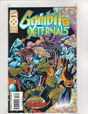 Gambit and the X-Ternals #3 VF/NM 9.0 Marvel Comics Age of Apocalypse