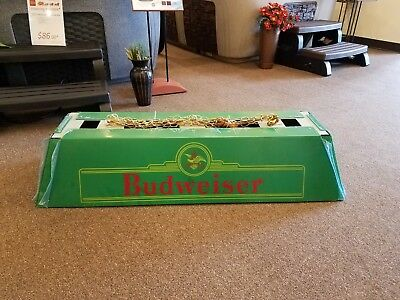 Budweiser Pool Table Light Green, NEW!! KING OF BEERS 48 X 18